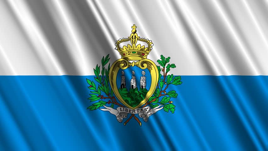 Nice wallpapers Flag Of San Marino 852x480px