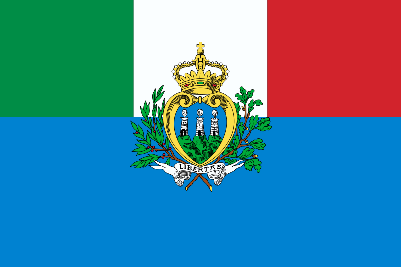 Flag Of San Marino High Quality Background on Wallpapers Vista