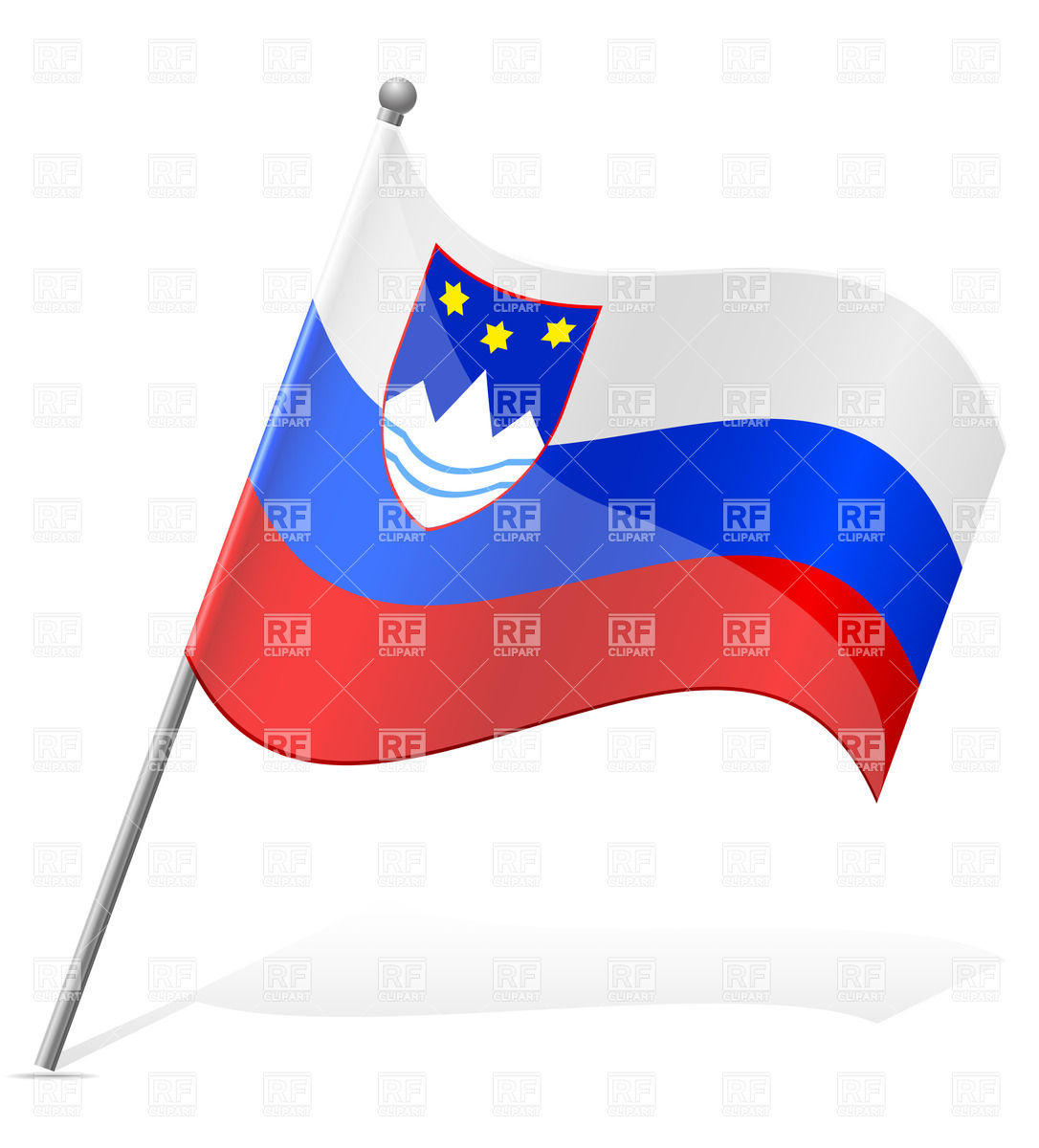 Amazing Flag Of Slovenia Pictures & Backgrounds