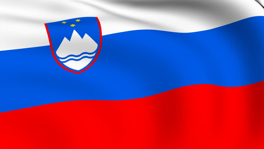 Nice wallpapers Flag Of Slovenia 852x480px
