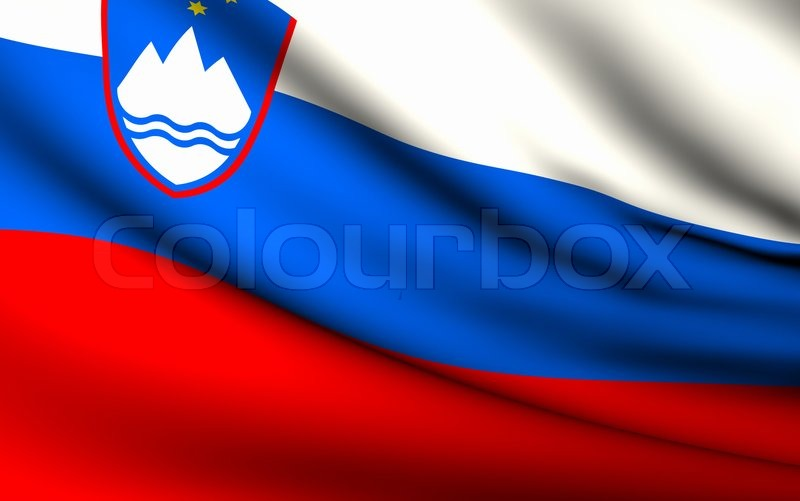 Nice Images Collection: Flag Of Slovenia Desktop Wallpapers