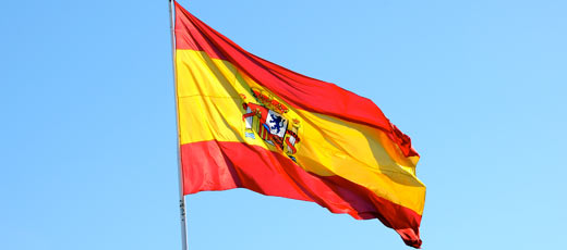 Flag Of Spain Backgrounds, Compatible - PC, Mobile, Gadgets| 520x230 px
