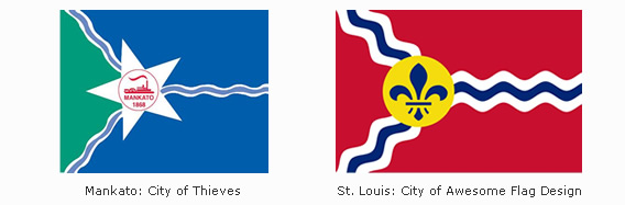 High Resolution Wallpaper | Flag Of St. Louis 568x187 px
