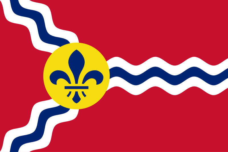 Flag Of St. Louis Backgrounds, Compatible - PC, Mobile, Gadgets| 800x532 px