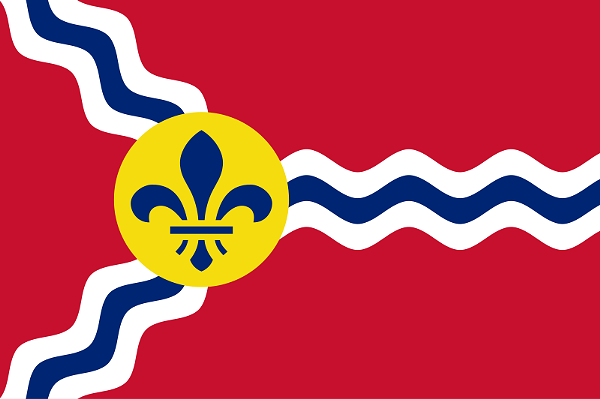 Images of Flag Of St. Louis | 600x399
