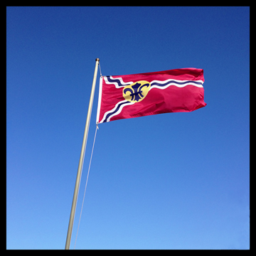HD Quality Wallpaper | Collection: Misc, 360x360 Flag Of St. Louis