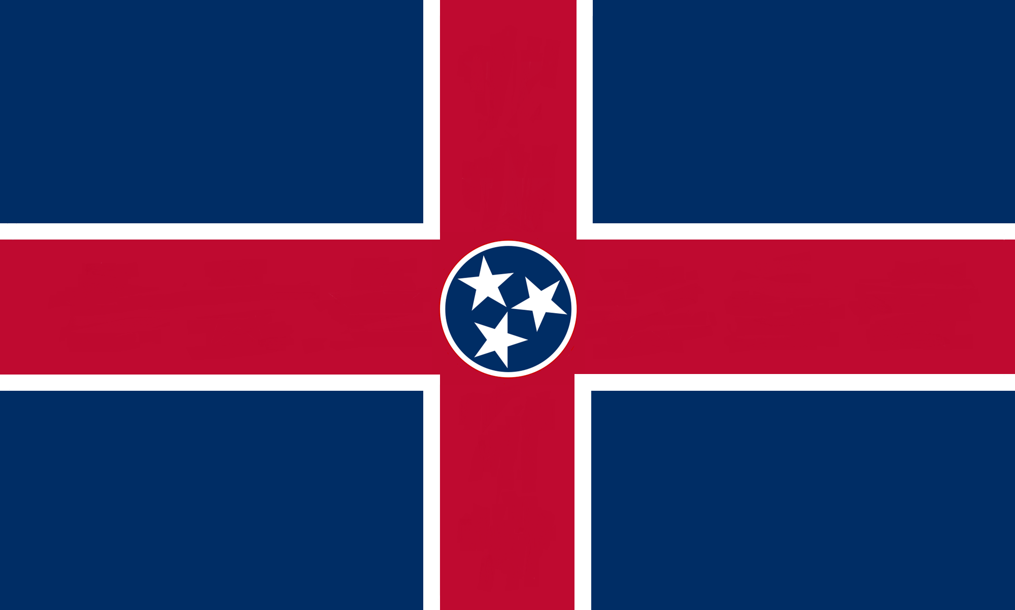 Nice Images Collection: Flag Of Tennessee Desktop Wallpapers