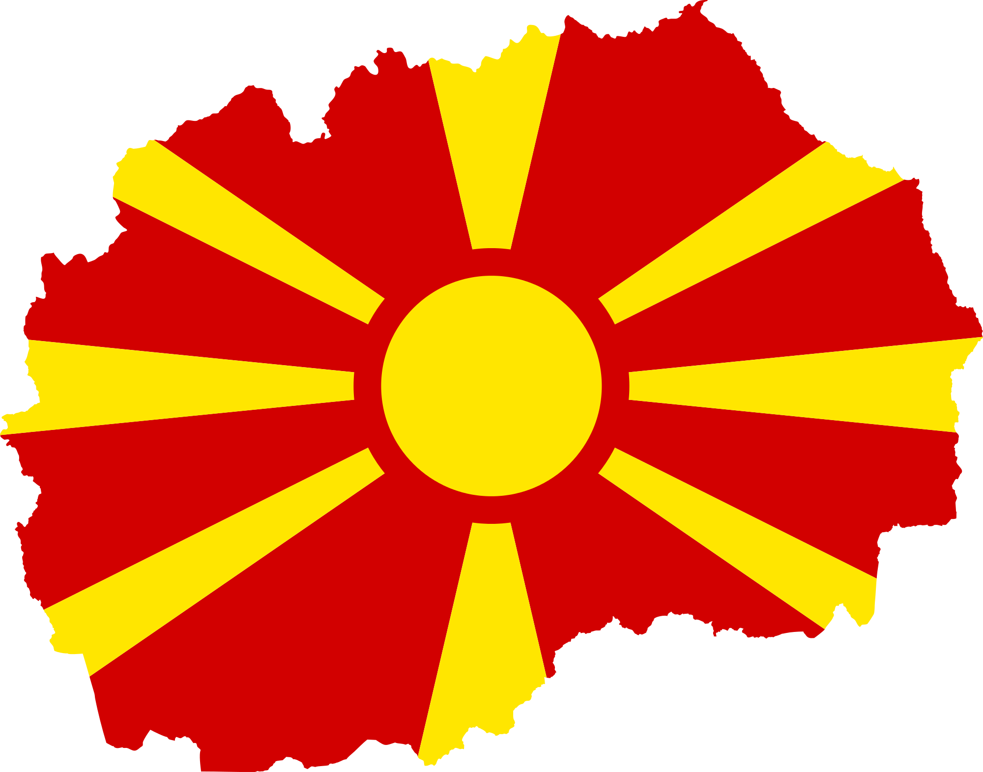 Flag Of The Republic Of Macedonia High Quality Background on Wallpapers Vista