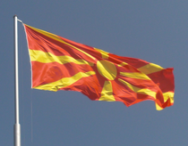 Images of Flag Of The Republic Of Macedonia   210x164