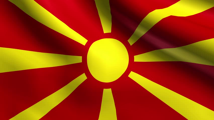 HD Quality Wallpaper   Collection: Misc, 852x480 Flag Of The Republic Of Macedonia