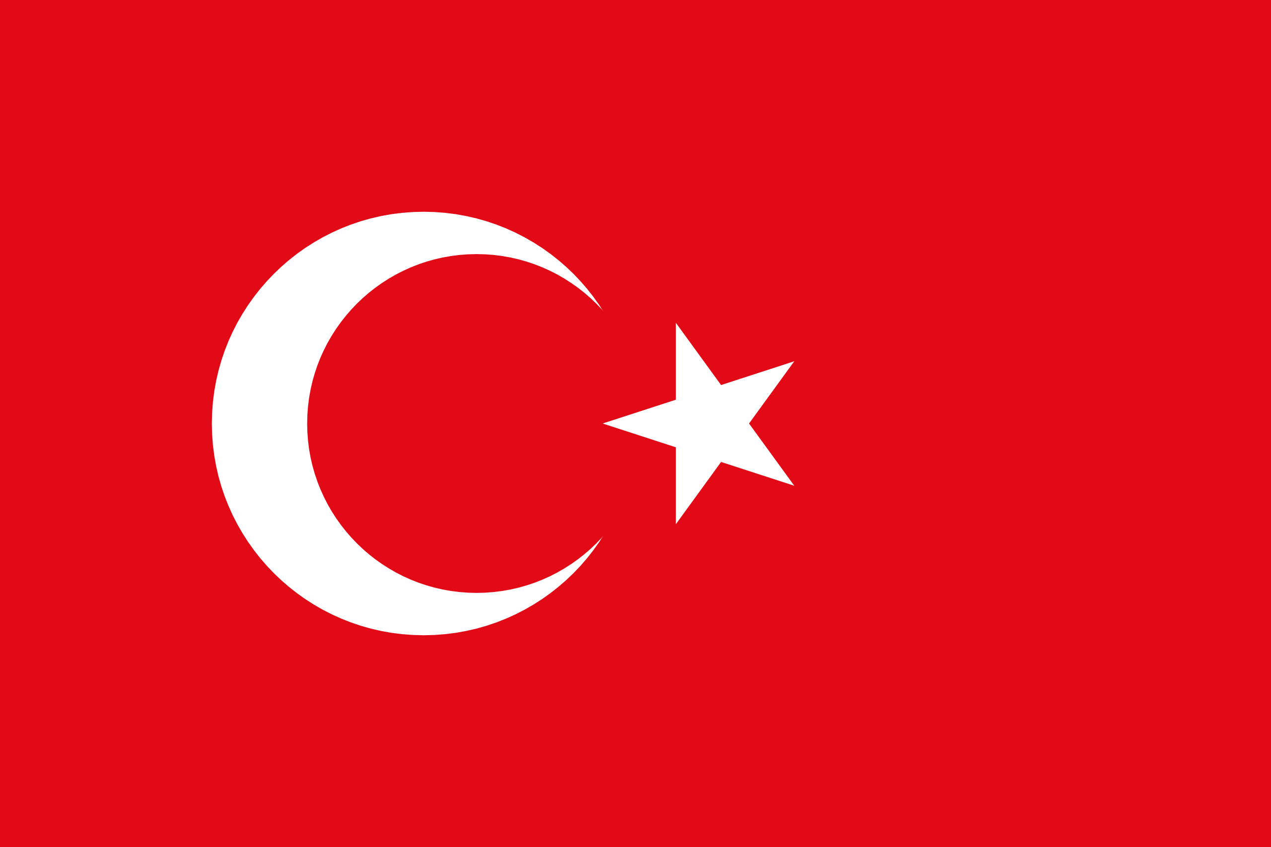 Nice Images Collection: Flag Of Turkey Desktop Wallpapers