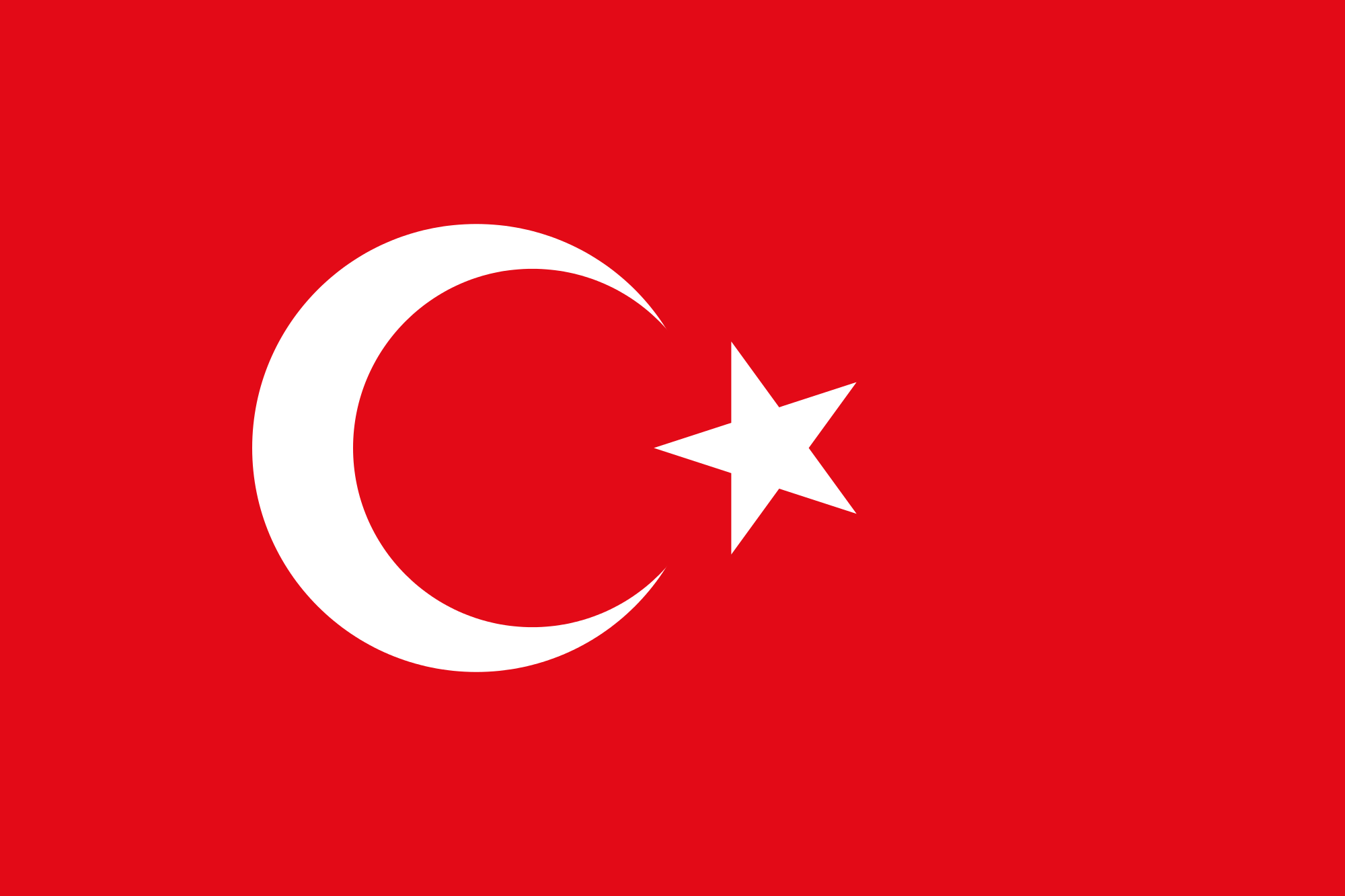 Nice wallpapers Flag Of Turkey 2000x1333px