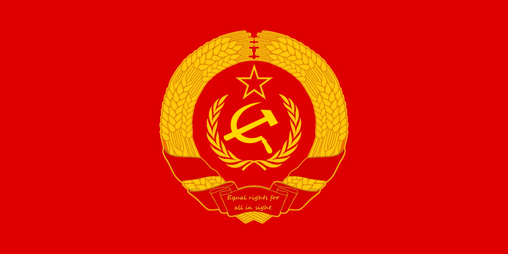 HD Quality Wallpaper | Collection: Misc, 2000x1000 Flag Of United Soviet Socialist Republics