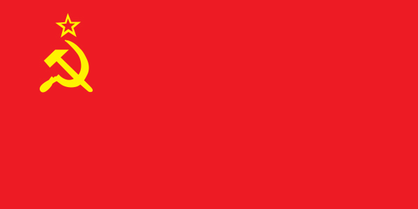 HD Quality Wallpaper | Collection: Misc, 600x300 Flag Of United Soviet Socialist Republics