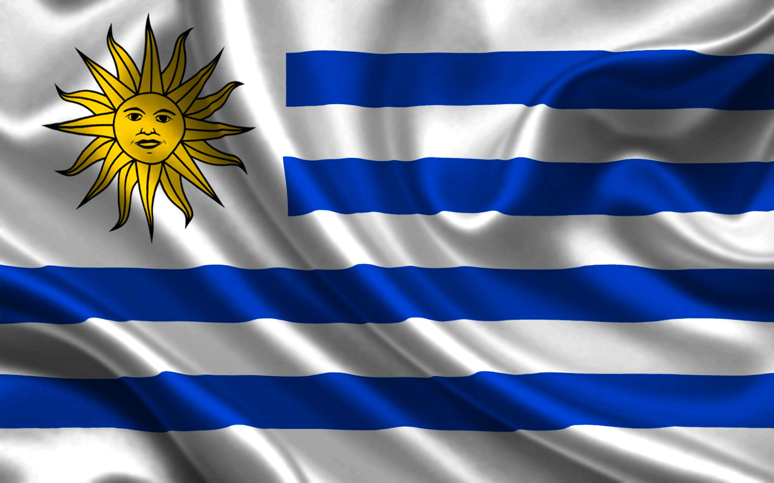 Flag Of Uruguay Backgrounds, Compatible - PC, Mobile, Gadgets  2560x1600 px