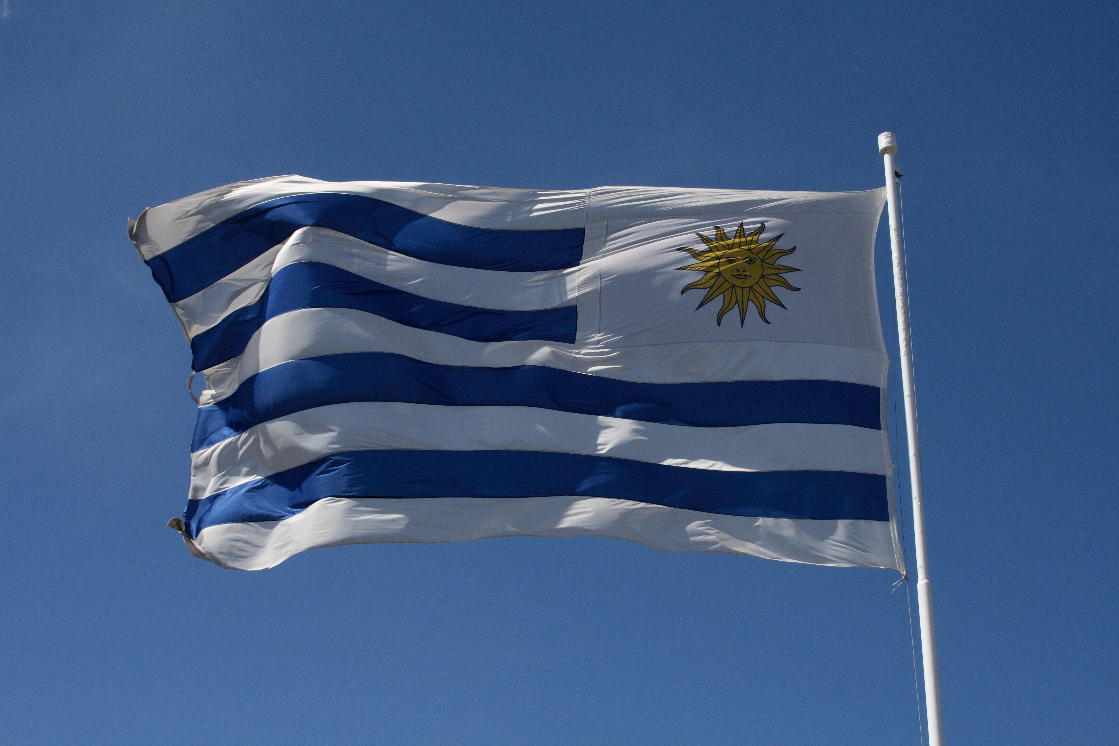Images of Flag Of Uruguay   3888x2592