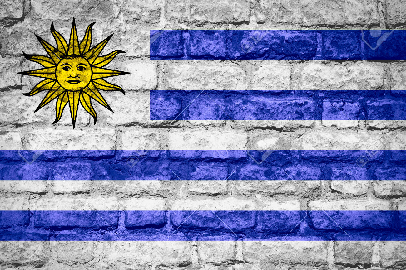 Nice Images Collection: Flag Of Uruguay Desktop Wallpapers