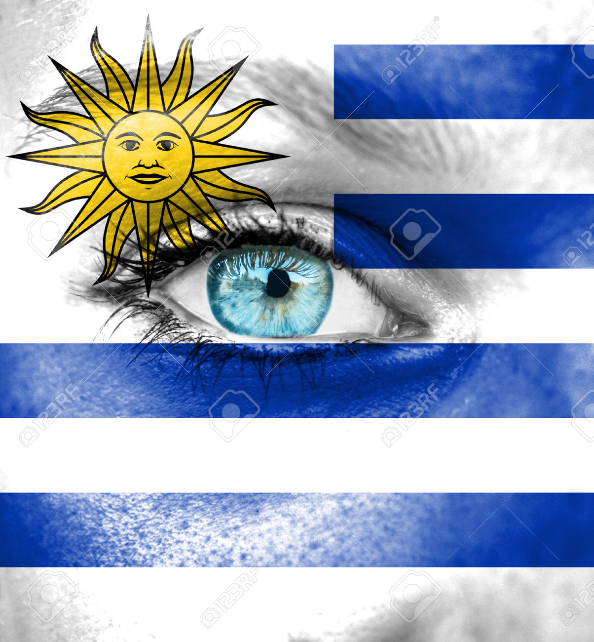 Images of Flag Of Uruguay   1204x1300