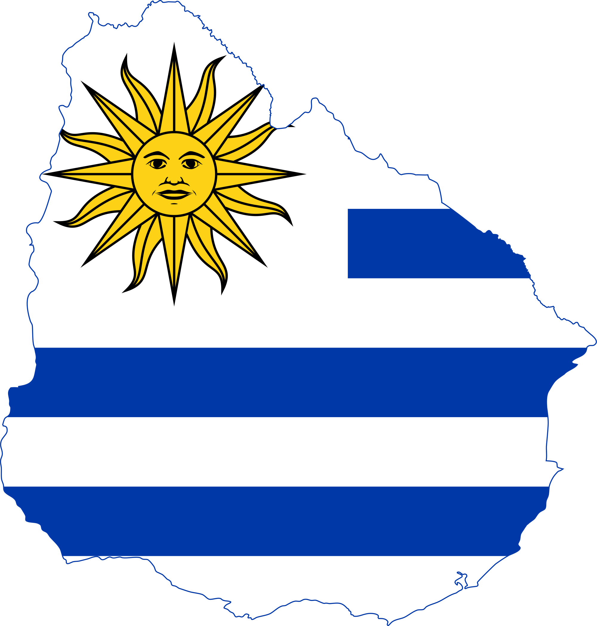 High Resolution Wallpaper   Flag Of Uruguay 2000x2098 px
