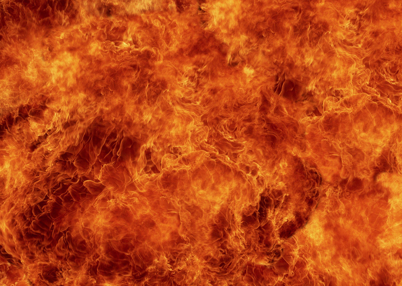 High Resolution Wallpaper | Flames 2950x2094 px