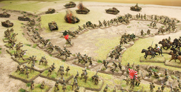 Nice wallpapers Flames Of War 690x354px