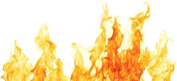 High Resolution Wallpaper | Flames 600x275 px