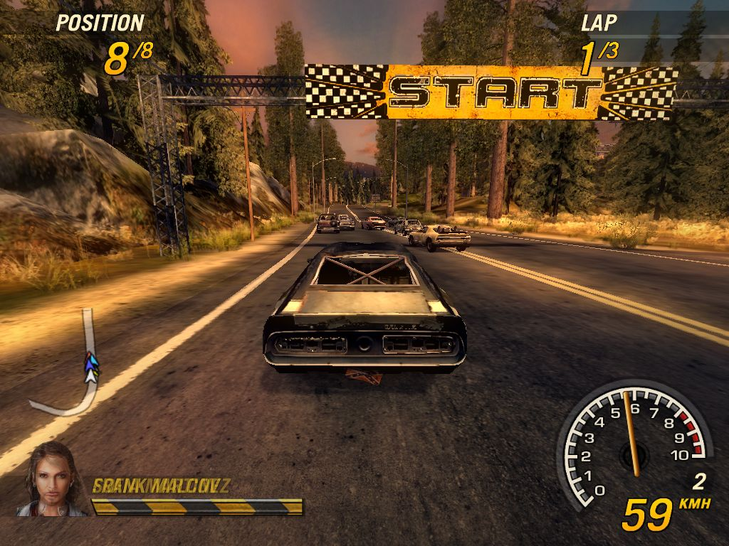 FlatOut Pics, Video Game Collection