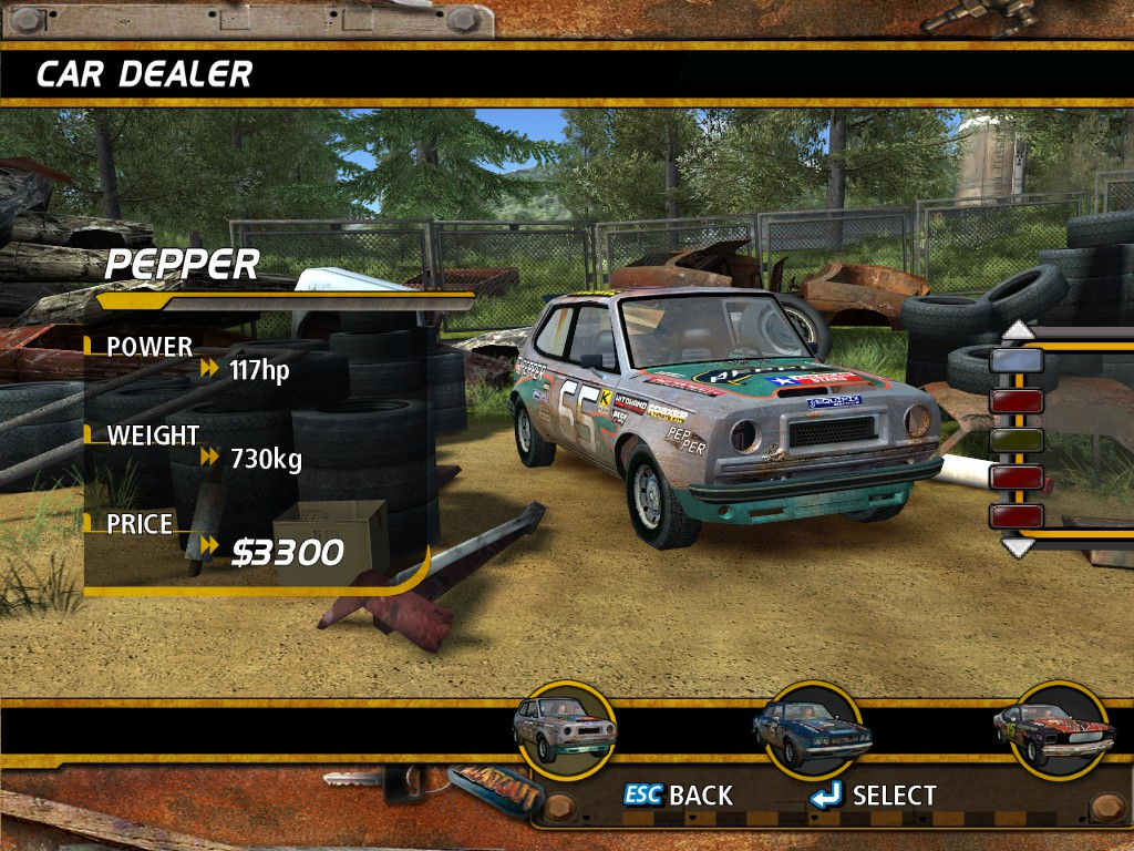 FlatOut Backgrounds on Wallpapers Vista