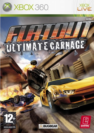 HD Quality Wallpaper | Collection: Video Game, 400x564 FlatOut
