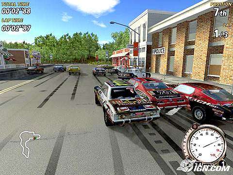 Nice wallpapers FlatOut 480x360px