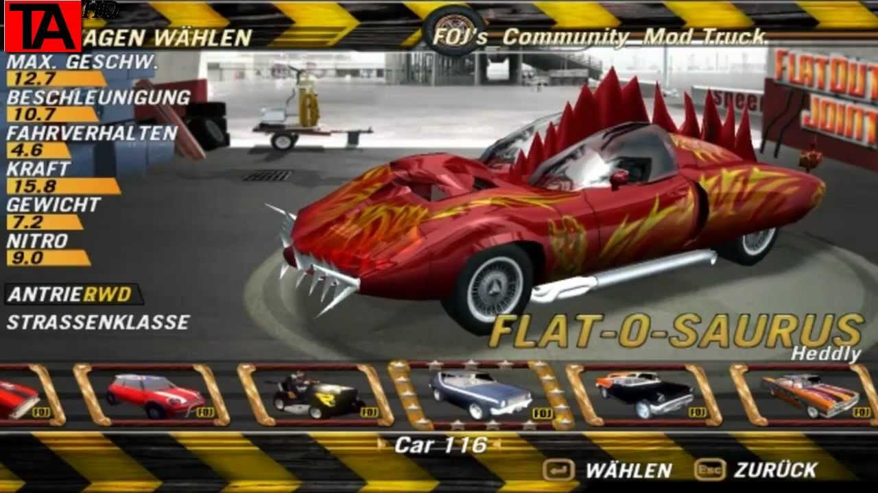 FlatOut wallpapers, Video Game, HQ FlatOut pictures | 4K Wallpapers