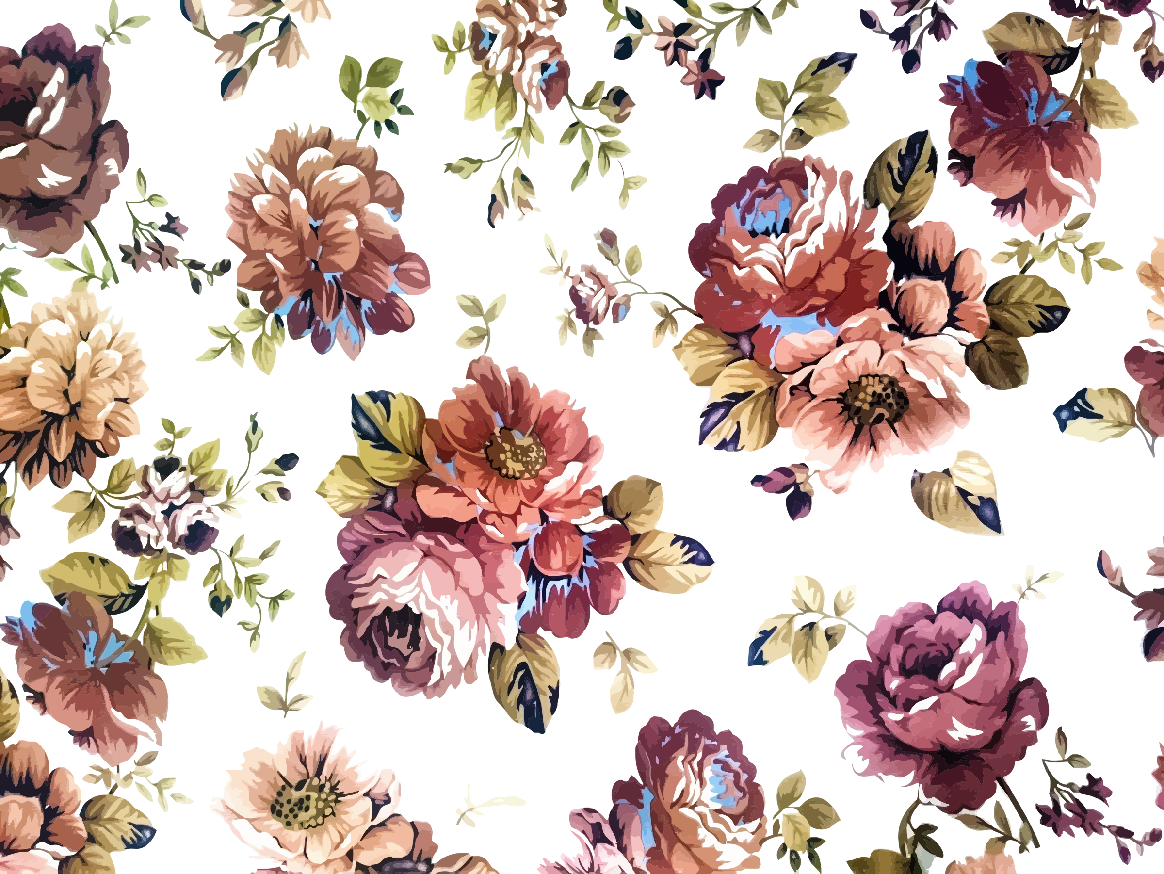 Floral Wallpapers Pattern Hq Floral Pictures 4k Wallpapers 2019
