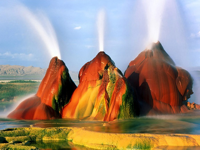 Fly Geyser High Quality Background on Wallpapers Vista