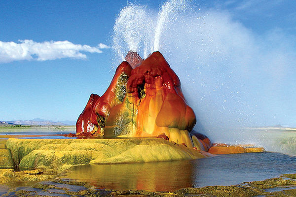 Fly Geyser Pics, Earth Collection