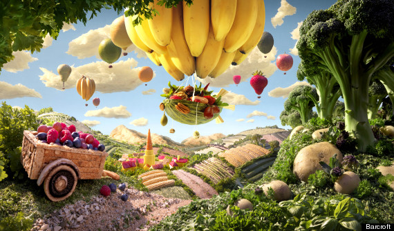 HD Quality Wallpaper | Collection: Artistic, 570x335 Foodscape