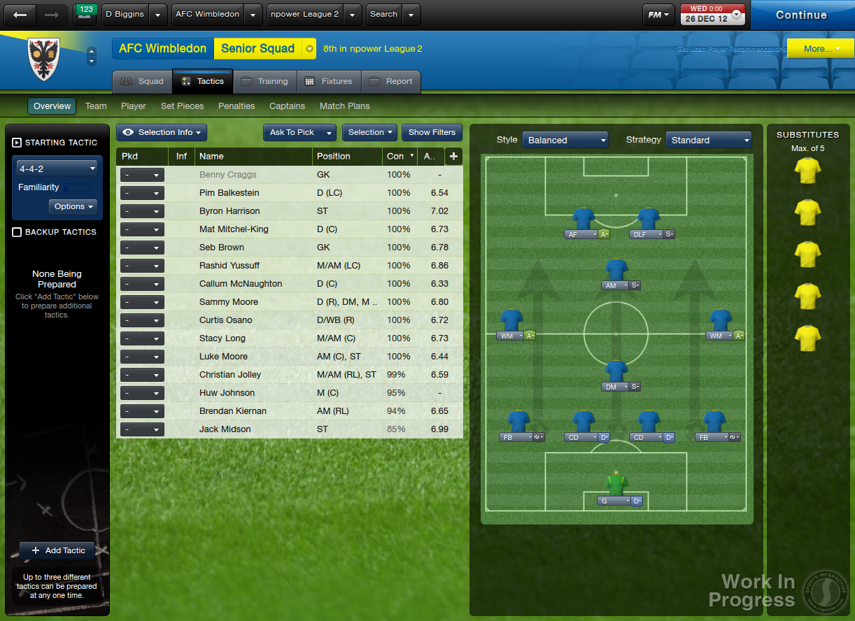 HD Quality Wallpaper | Collection: Video Game, 1222x888 Football Manager 2013