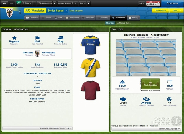 Nice wallpapers Football Manager 2013 700x509px