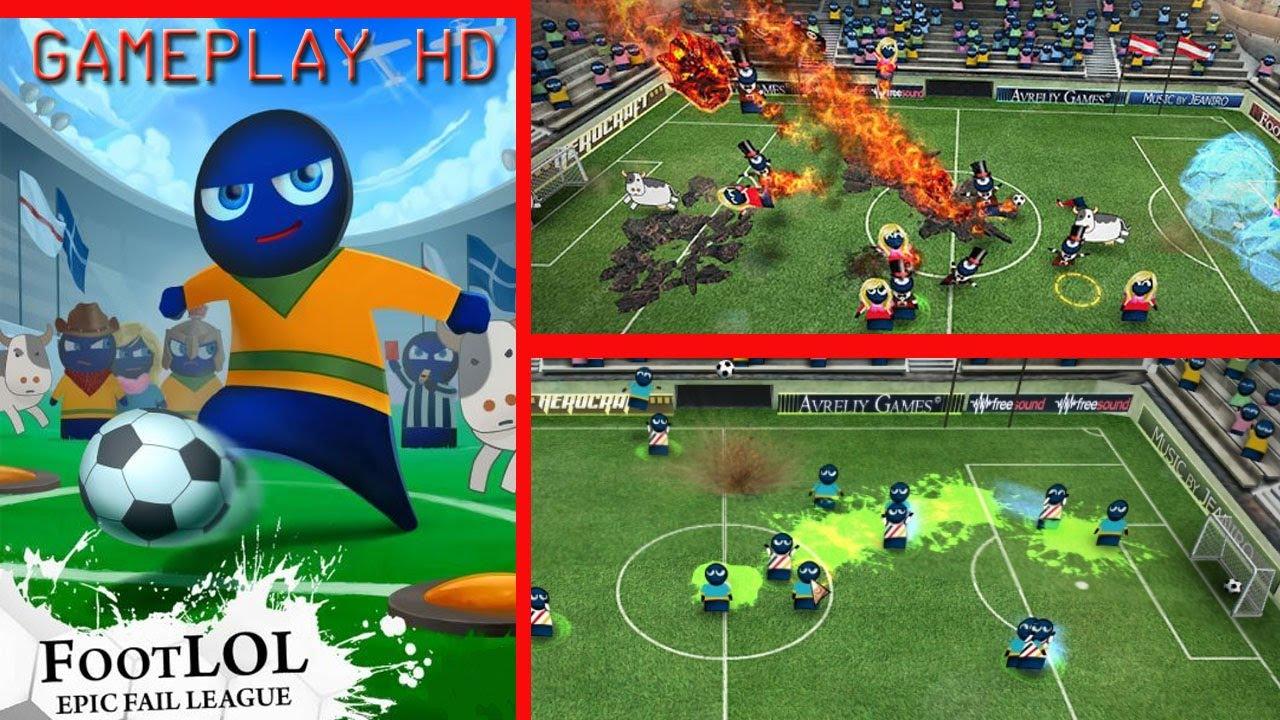 FootLOL: Epic Fail League Backgrounds, Compatible - PC, Mobile, Gadgets  1280x720 px