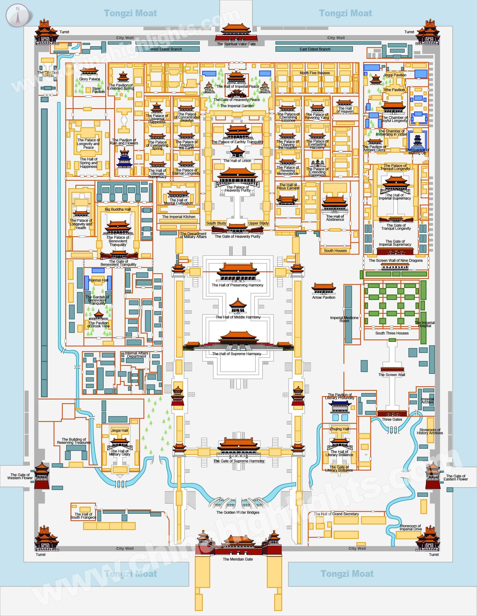 High Resolution Wallpaper | Forbidden City 1550x2000 px