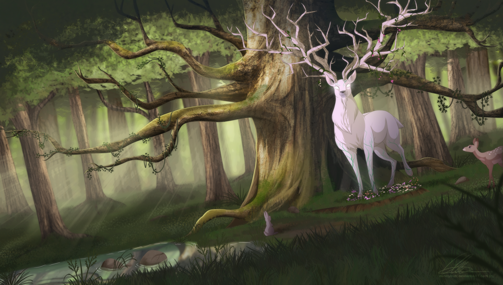 Forest Spirit Backgrounds on Wallpapers Vista