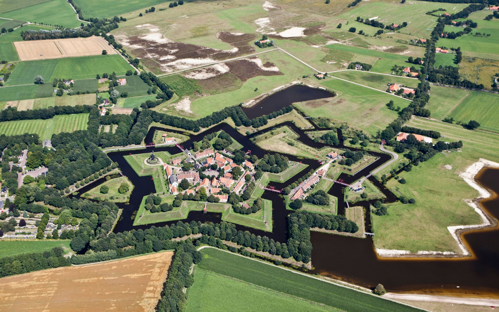 Nice wallpapers Fort Bourtange 1680x1050px
