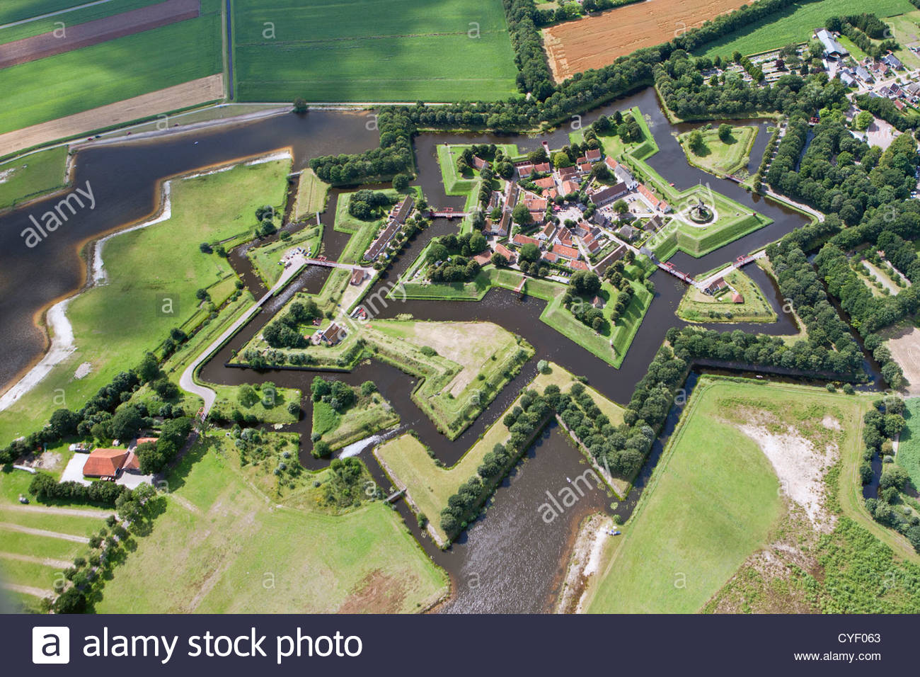 Nice wallpapers Fort Bourtange 1300x956px