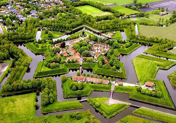 Nice wallpapers Fort Bourtange 600x420px