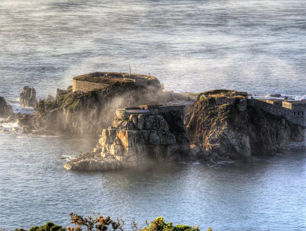 Nice Images Collection: Fort Clonque Desktop Wallpapers