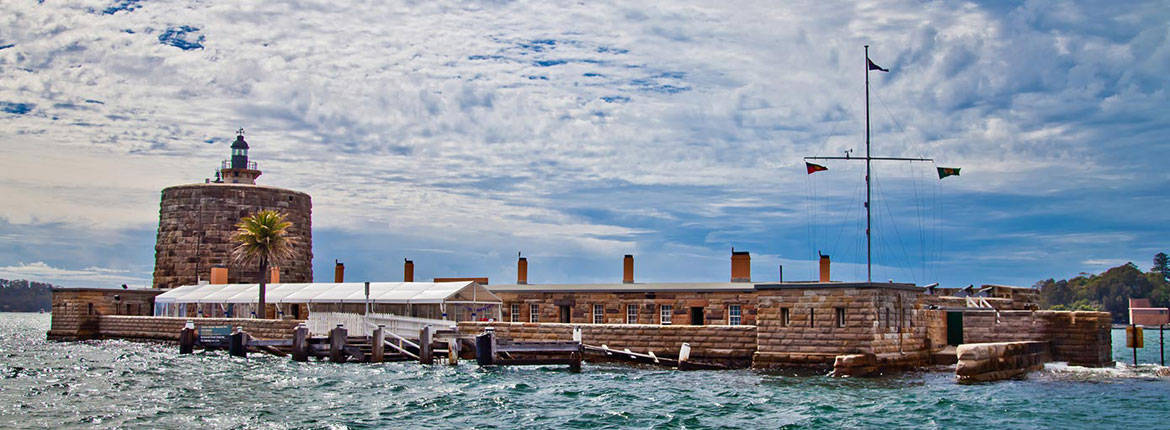 HD Quality Wallpaper | Collection: Man Made, 1170x430 Fort Denison