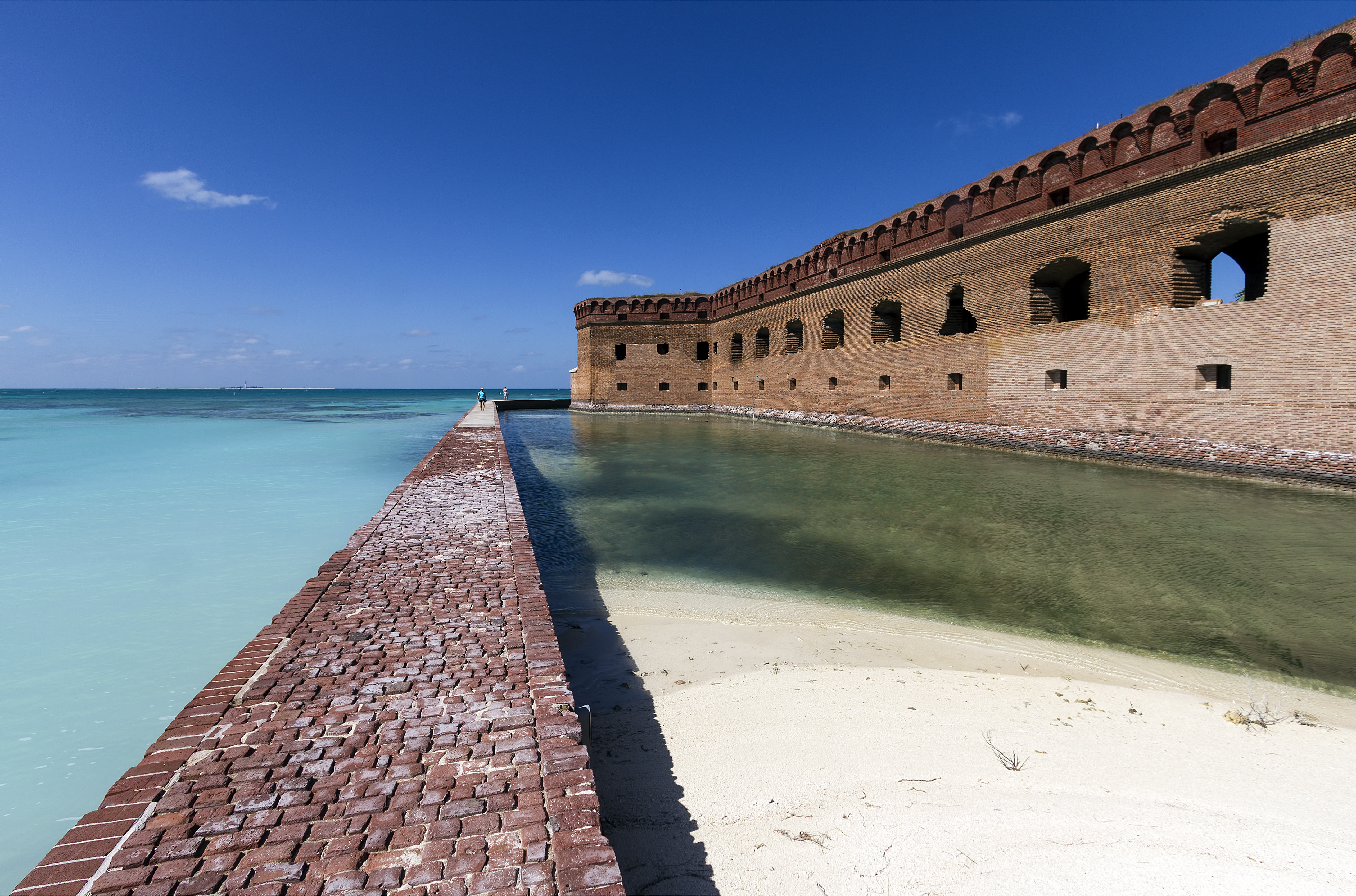 Images of Fort Jefferson   5124x3386