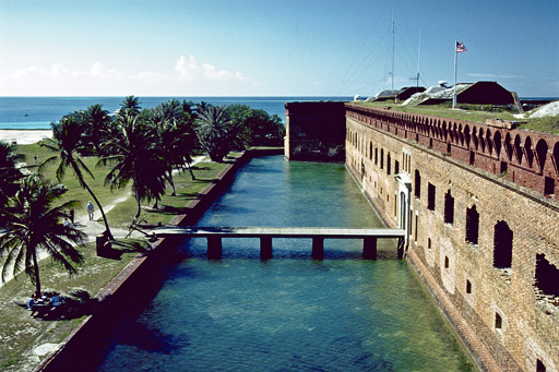 HD Quality Wallpaper   Collection: Man Made, 512x341 Fort Jefferson