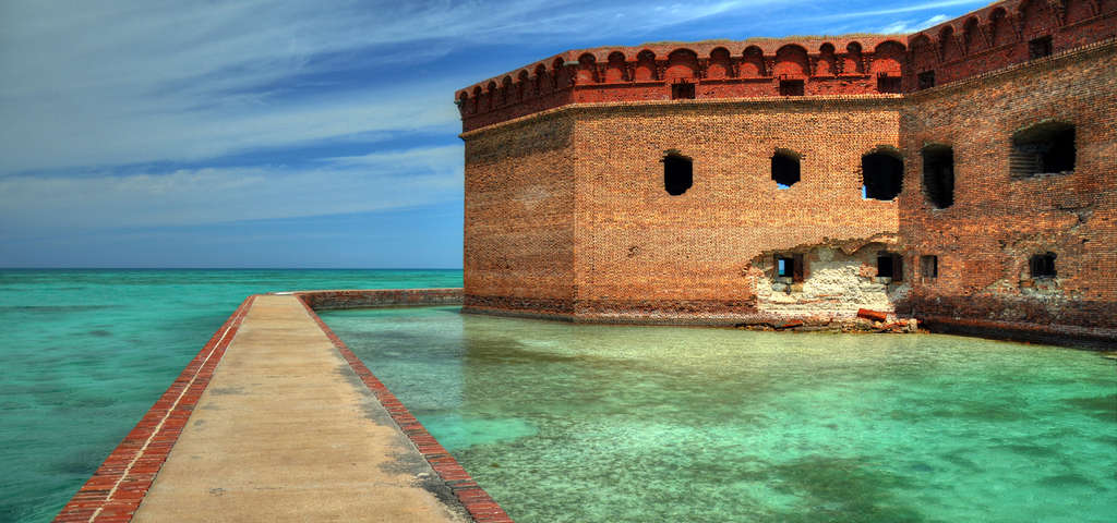 1024x480 > Fort Jefferson Wallpapers