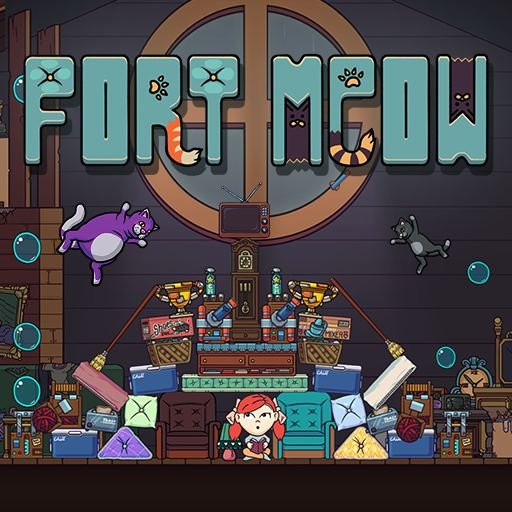 Nice Images Collection: Fort Meow Desktop Wallpapers