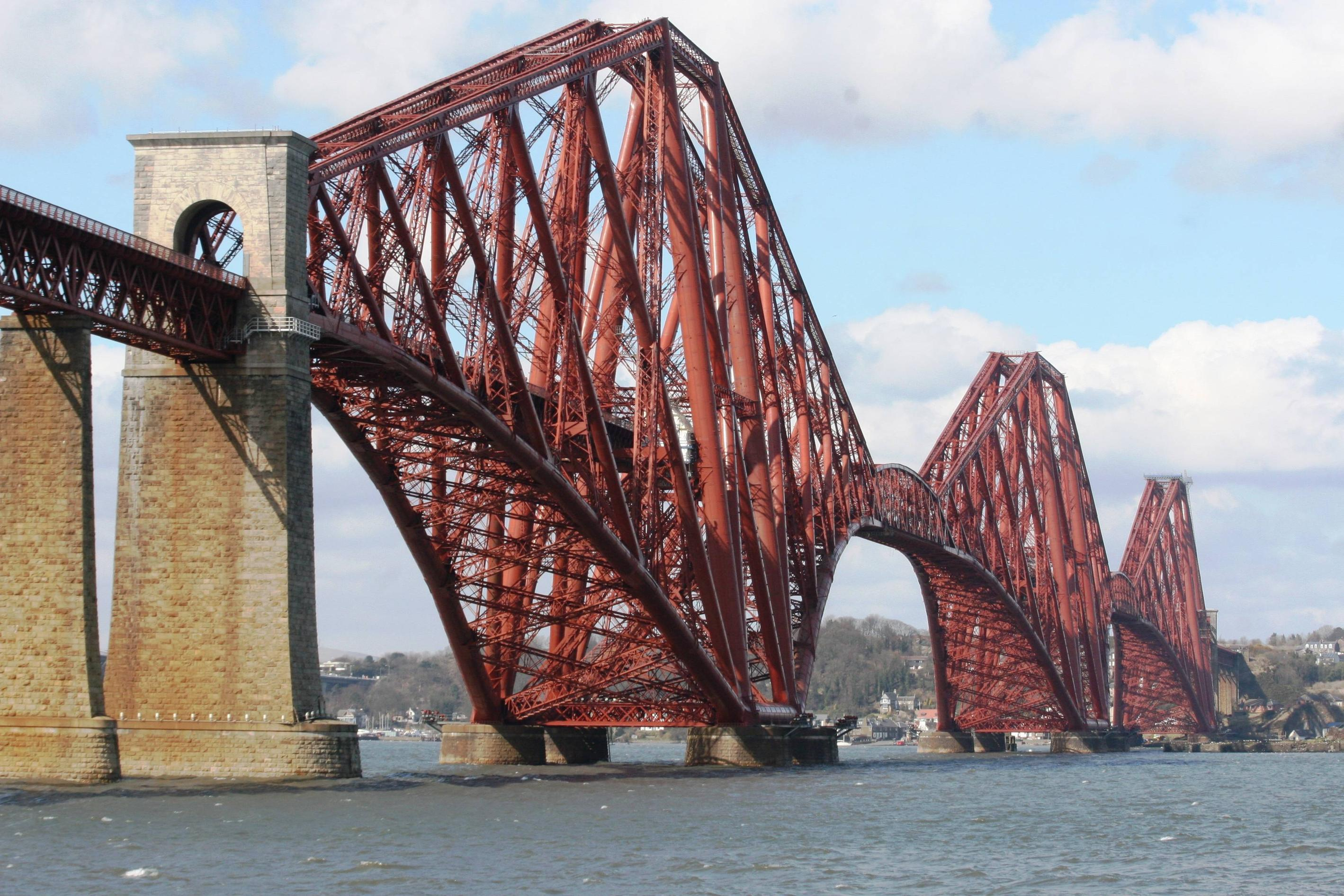 Nice wallpapers Forth Bridge 2838x1892px